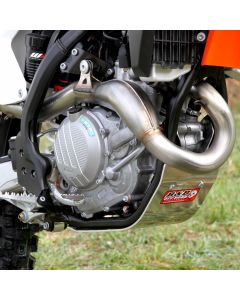 Husky FE450/501 SKID PLATE. Please note image used of skidplate is mounted on a KTM