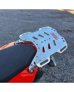 Rear Compact Tail Rack Luggage Plate Extension - Yamaha XT690/ T700 Tenere